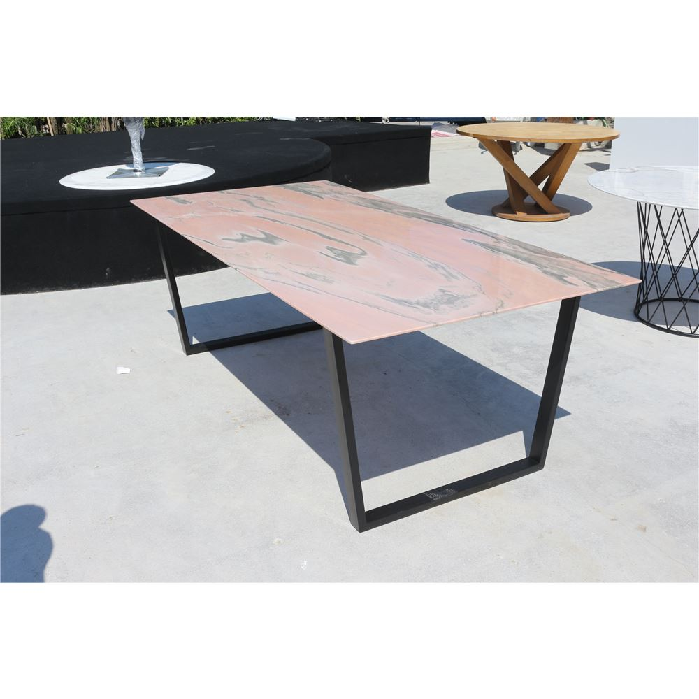 EARTH PİNK KÜP MODEL PROFİL MASA